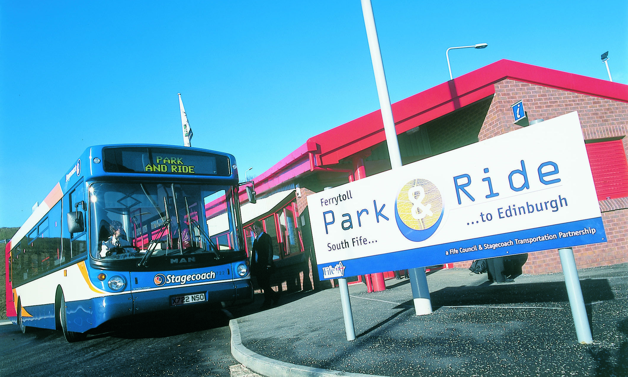 Ferrytoll park and ride