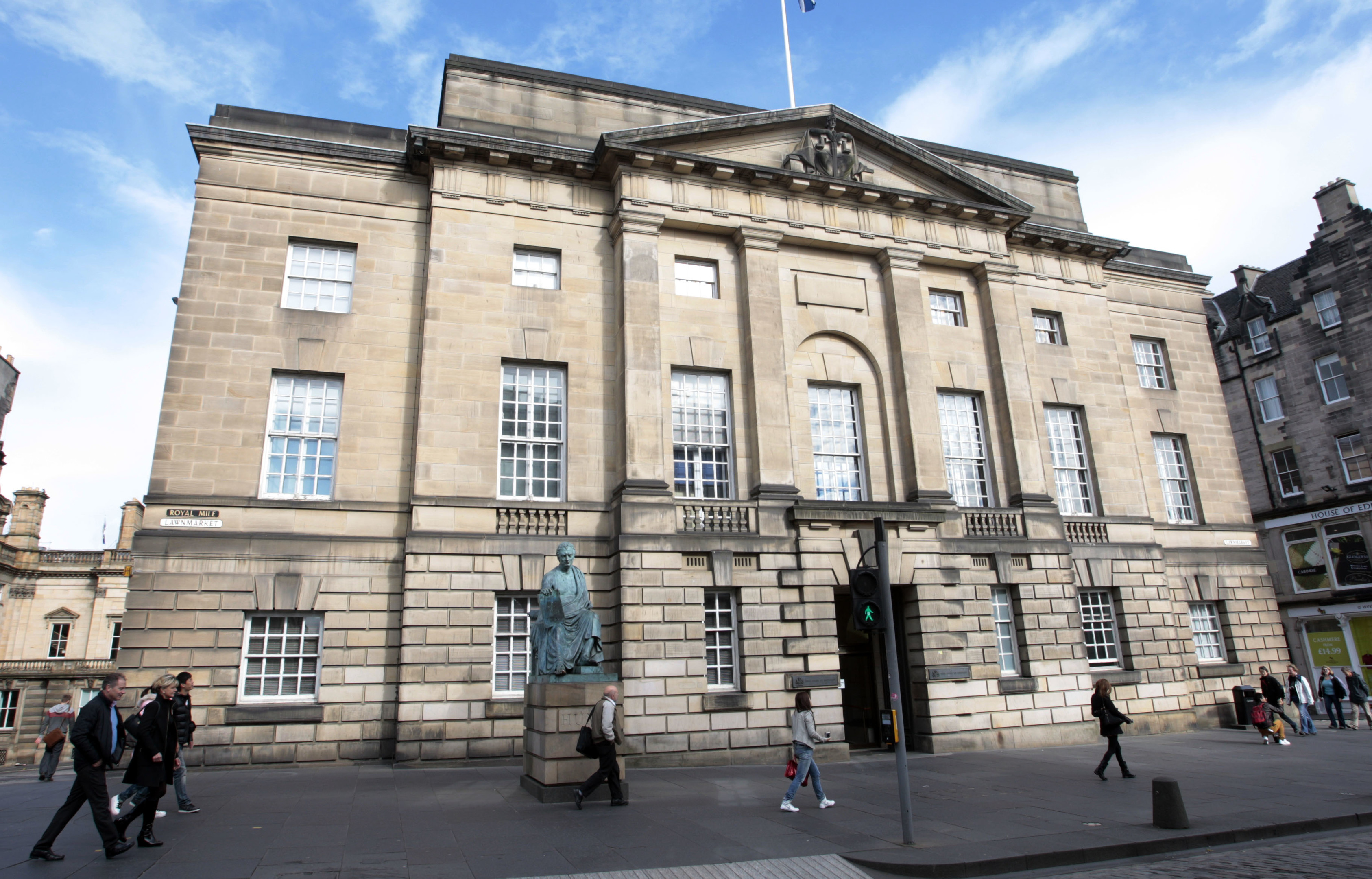 Stewart was sentenced to eight-and-a-half years at the High Court in Edinburgh.