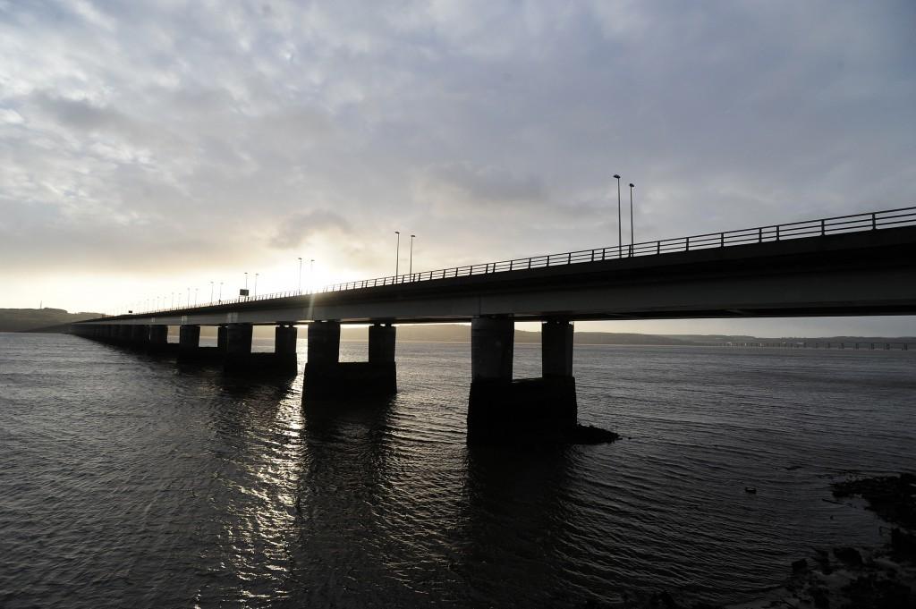The Tay Bridge.