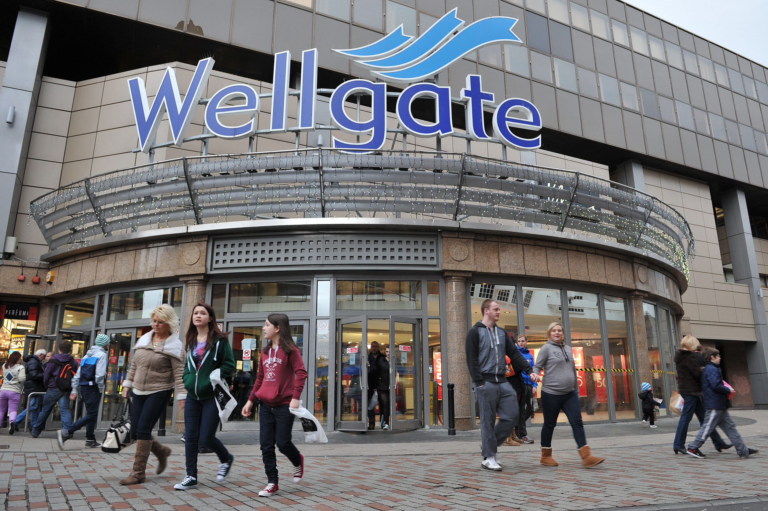 The incidents happened near the Wellgate Shopping Centre in Dundee.