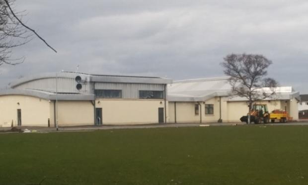 Timmergreens Primary School under construction.