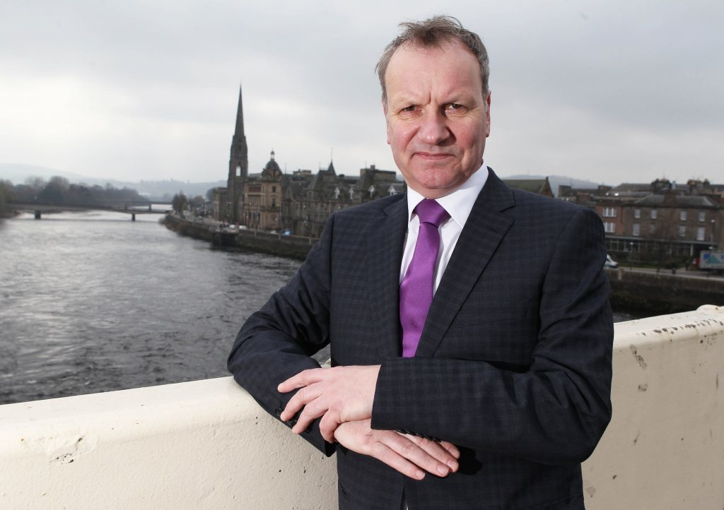 01/04/14 Sunday Post, Chris Austin Perth Pete Wishart, SNP MP and ex Runrig rock star in his local constituency of Perth. Words: Tracey Bryce