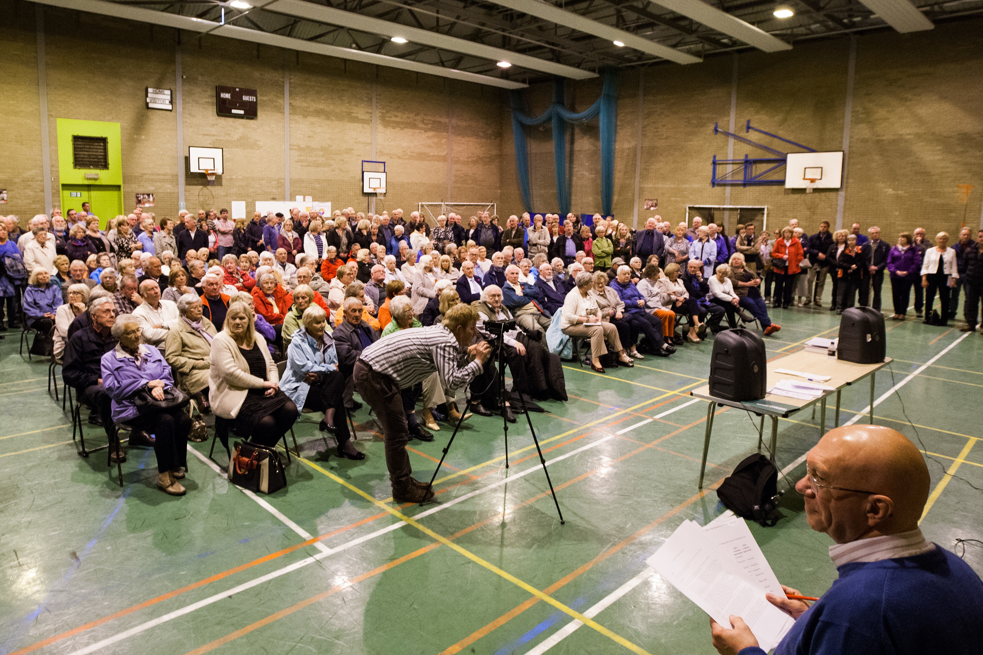 Broughty Ferry Community Council met at Eastern Primary in January 2015 to discuss the boundary proposals. It was the largest meeting in its history.