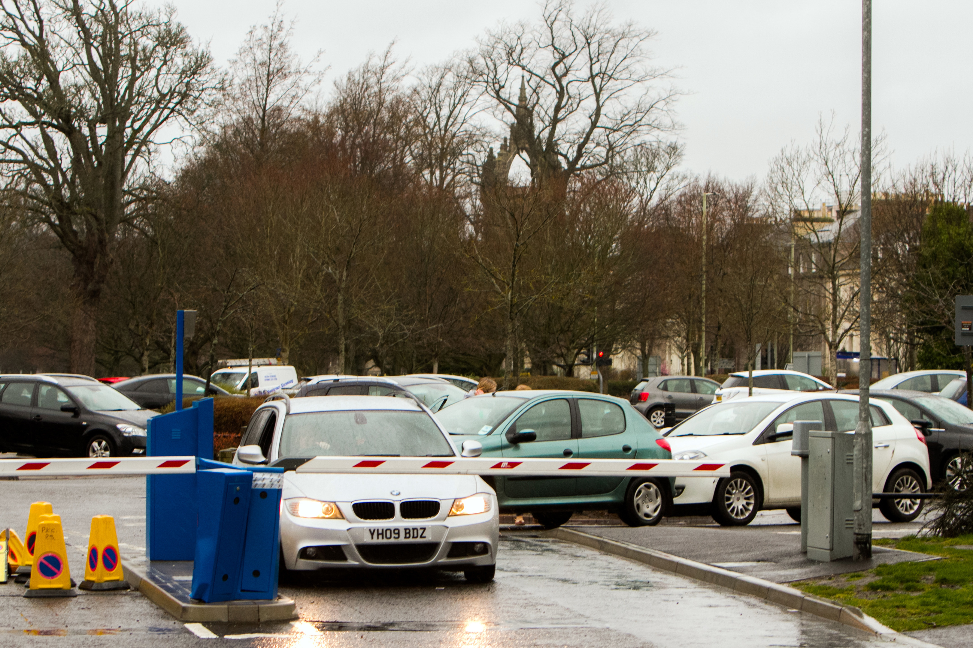 Last month it was announced that the barriers at the South Inch car park would stay down 24 hours a day