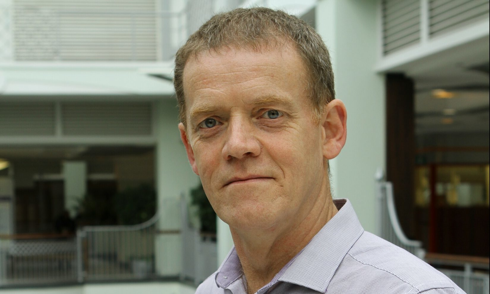 Wellgate Centre manager Peter Aitken.