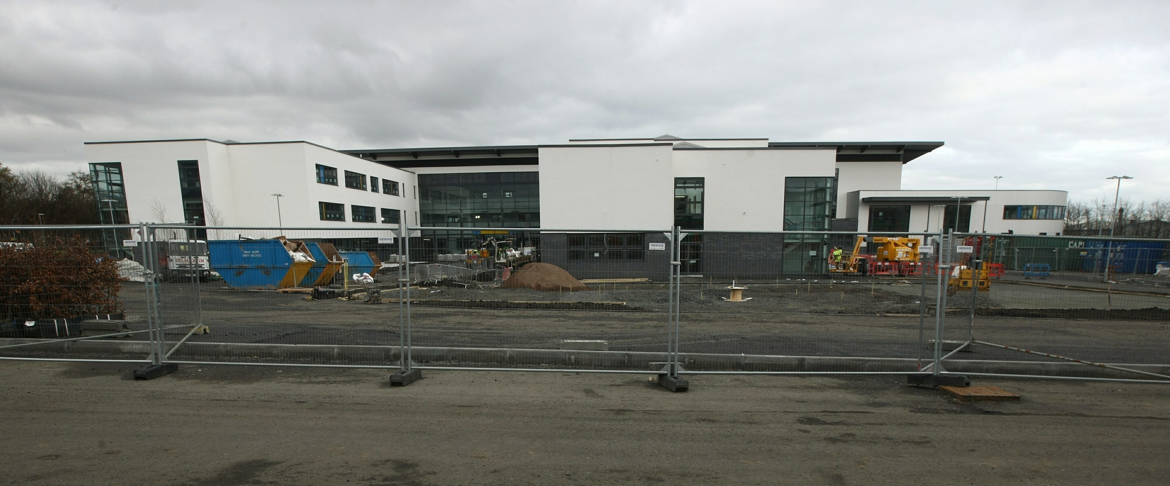 The Windmill Community Campus in Kirkcaldy is due to open in August.