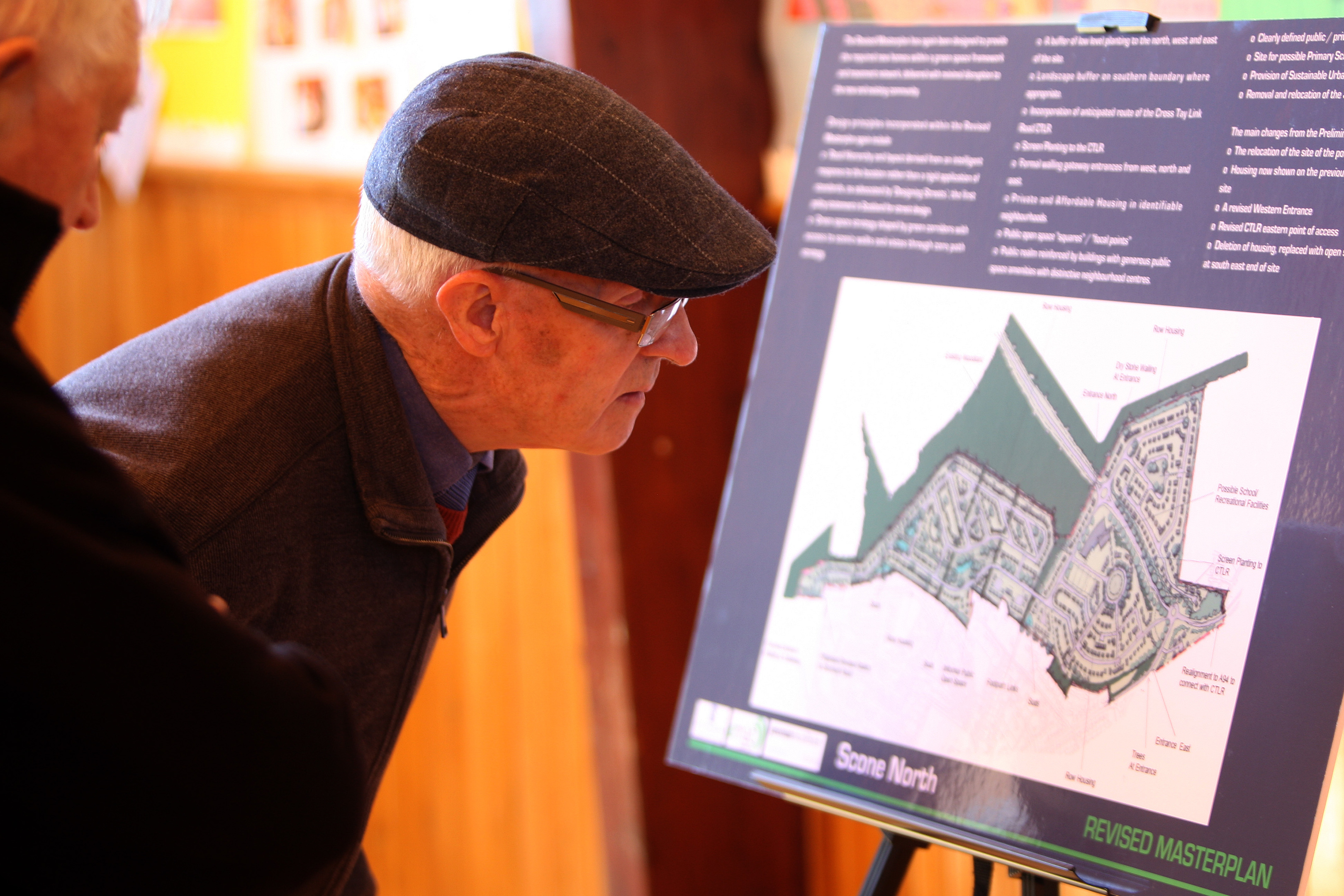Residents cast an eye over the latest Scone housing plan.
