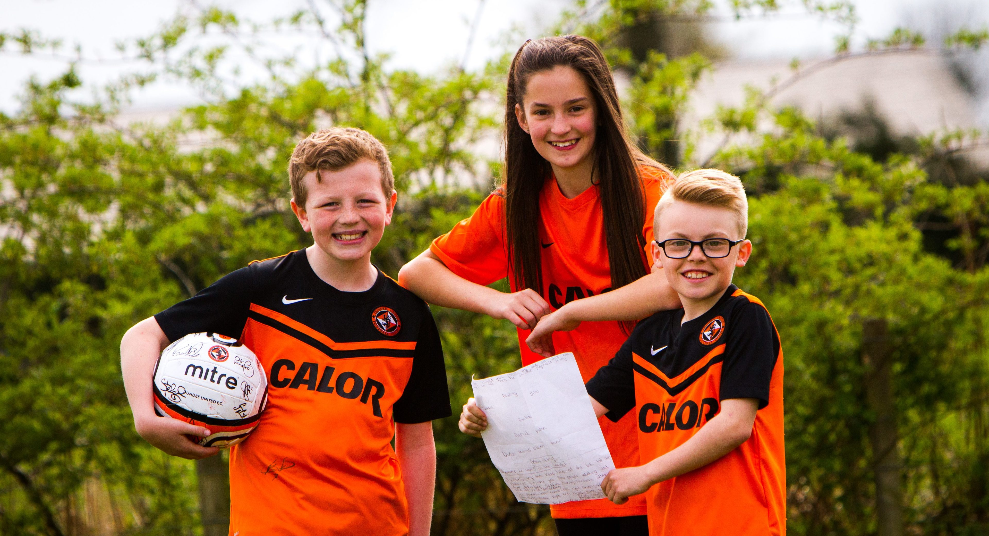 Young tacticians -  James Milton , Emily Thom  and Lewis Anderson.