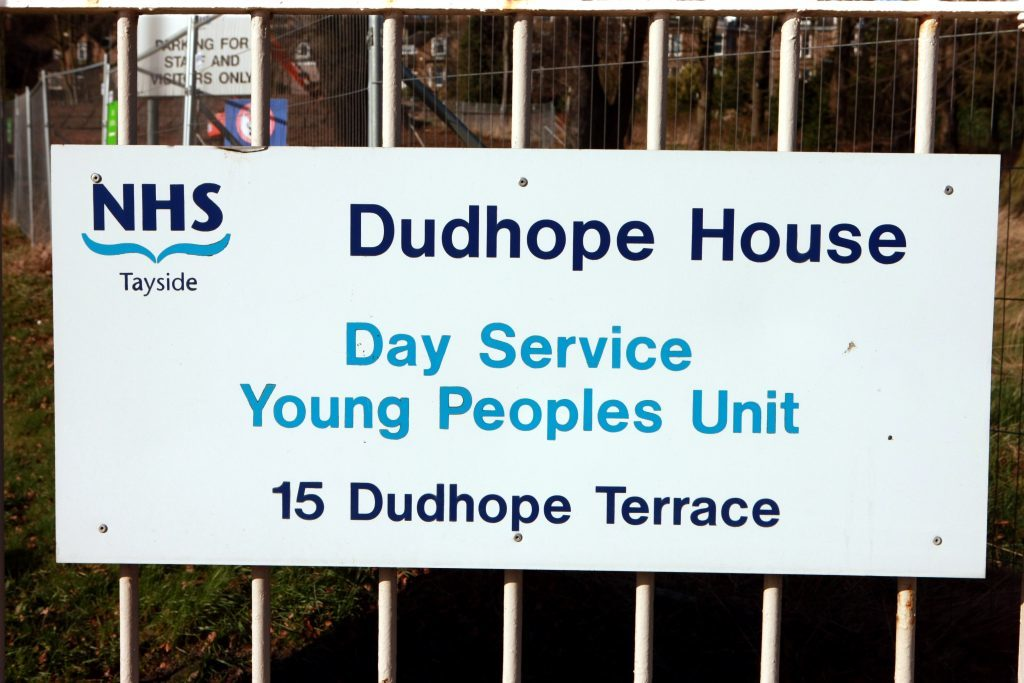 Dudhope House in Dundee provides CAMHS support in Tayside, which has cut waiting times drastically.