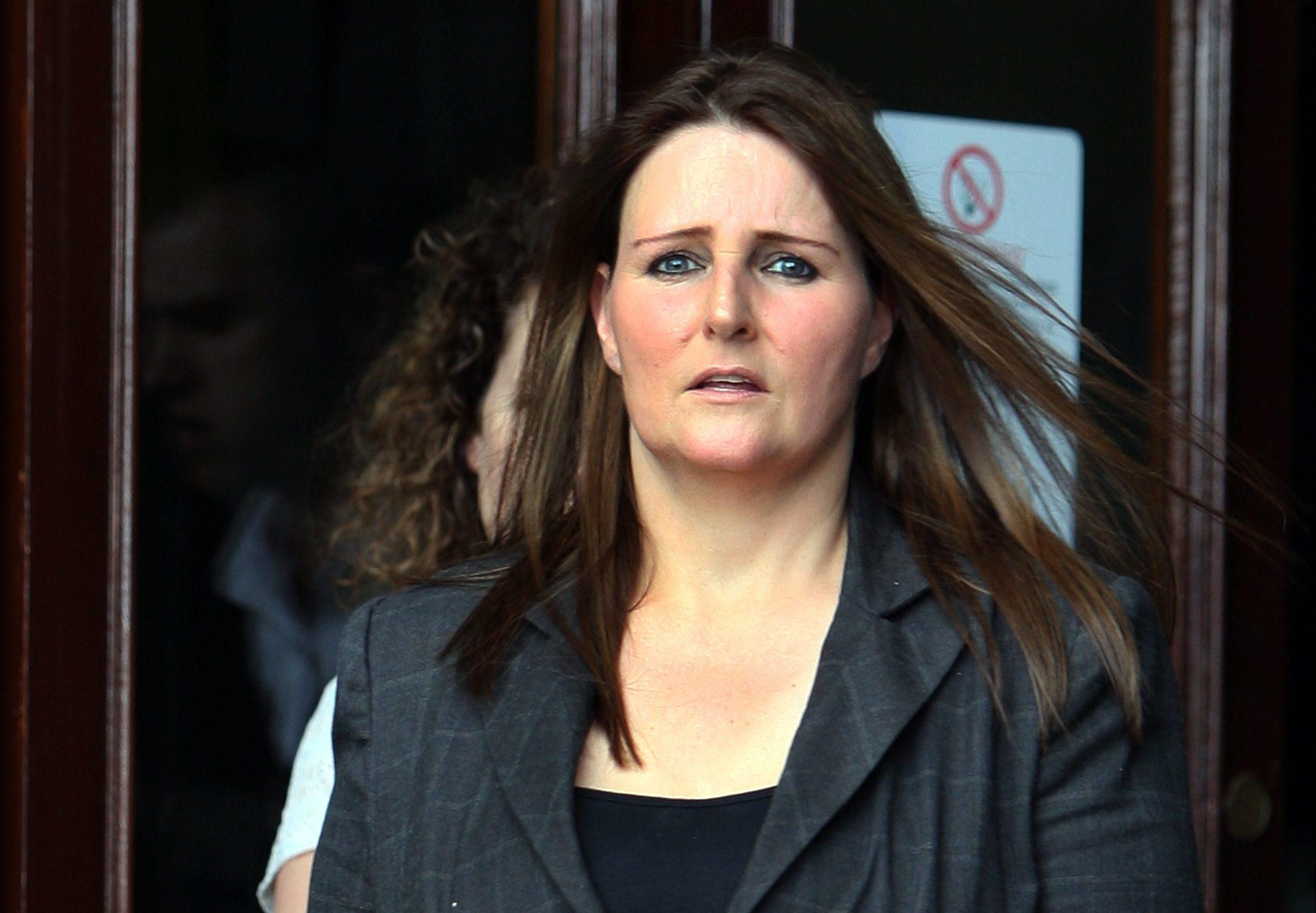 Susan Beattie at her sentencing in 2014.