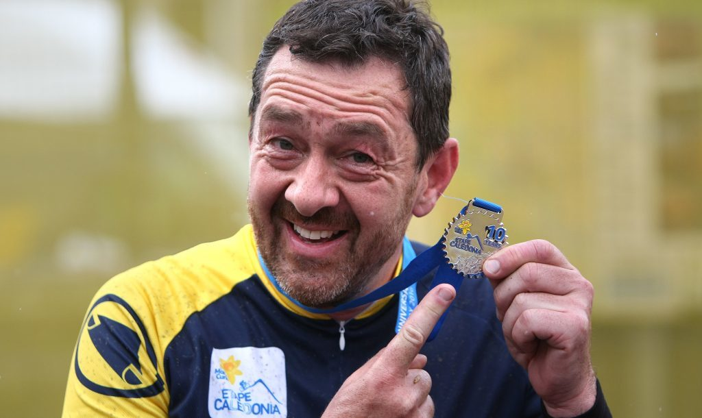 A delighted Chris Boardman