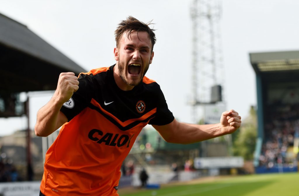 Keith Watson during his spell at Dundee United.