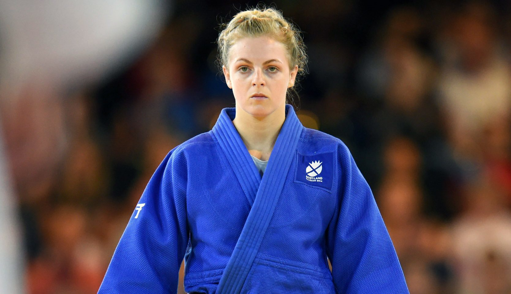 Stephanie Inglis at the 2014 Commonwealth Games.