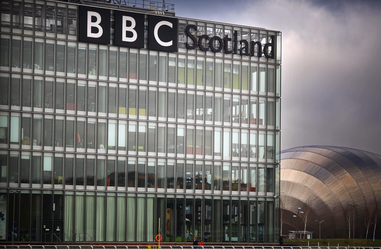 The BBC Scotland headquarters in Glasgow.