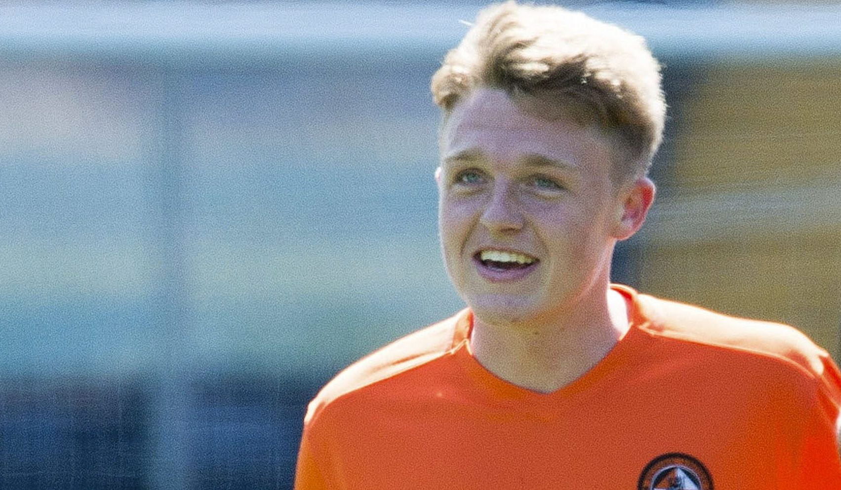 A glimpse of the future? Dundee United's Harry Souttar (left) and Cameron Ballantyne at Kilmarnock.