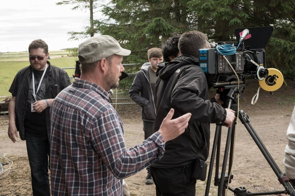 Crowman was filmed in Angus over five hectic and frequently showery days in summer 2015