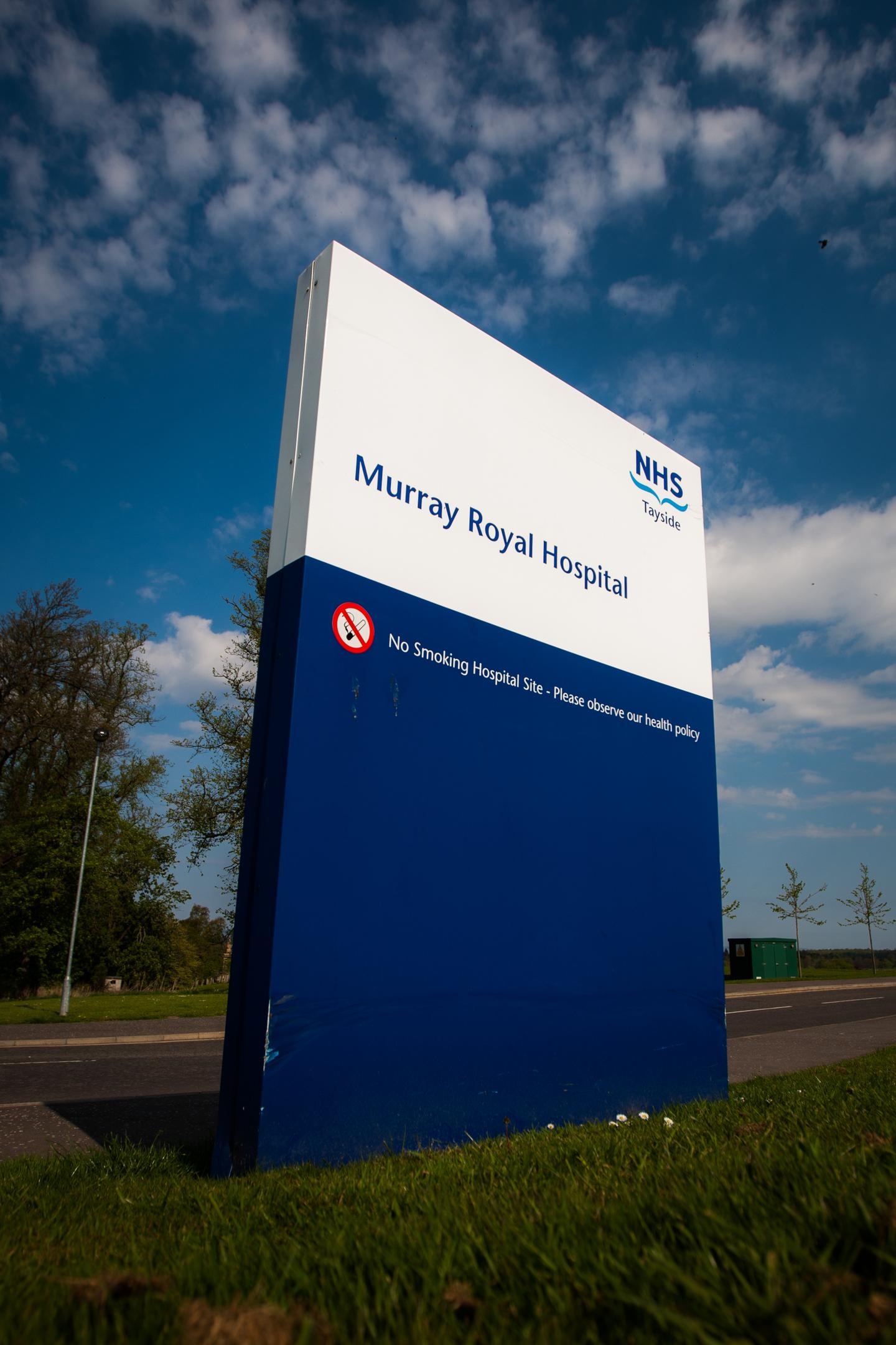 Murray Royal Hospital, Muirhall Road, Perth.
