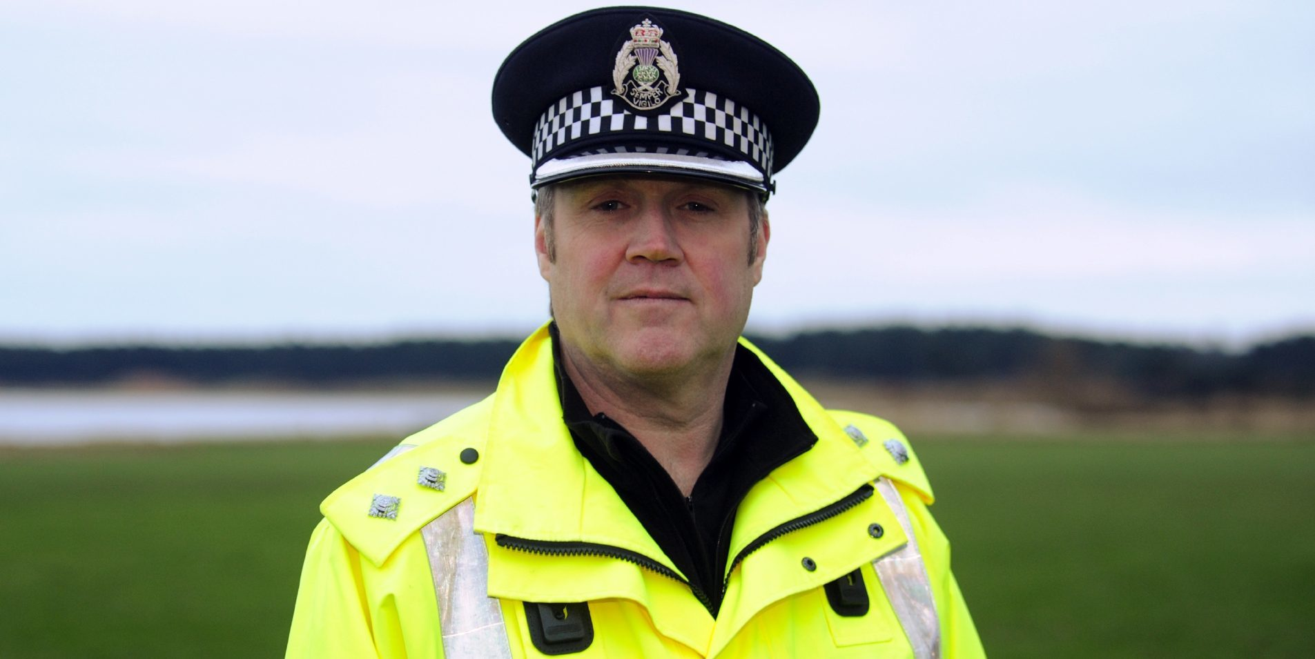 Levenmouth Inspector Tom Brown.