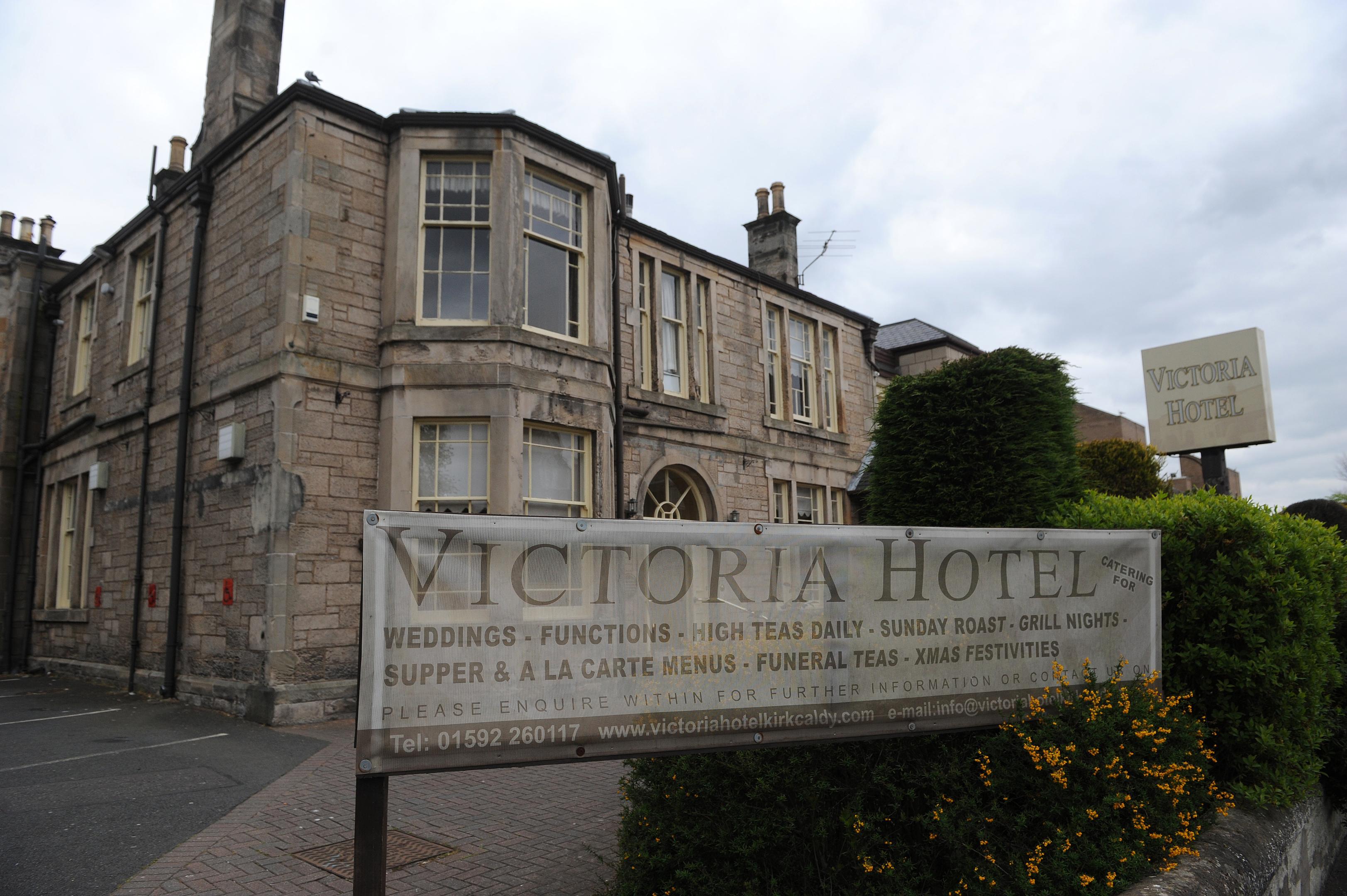 The Victoria Hotel.