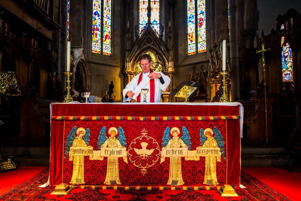 The Very Reverend Jeremy Auld.