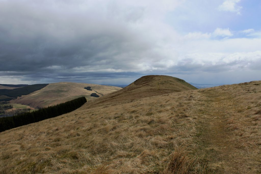 2. Approaching the summit of Seamab Hill - James Carron