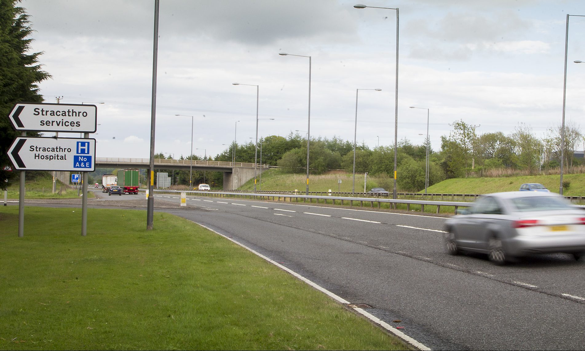The road may join with the existing Brechin junction at Stracathro