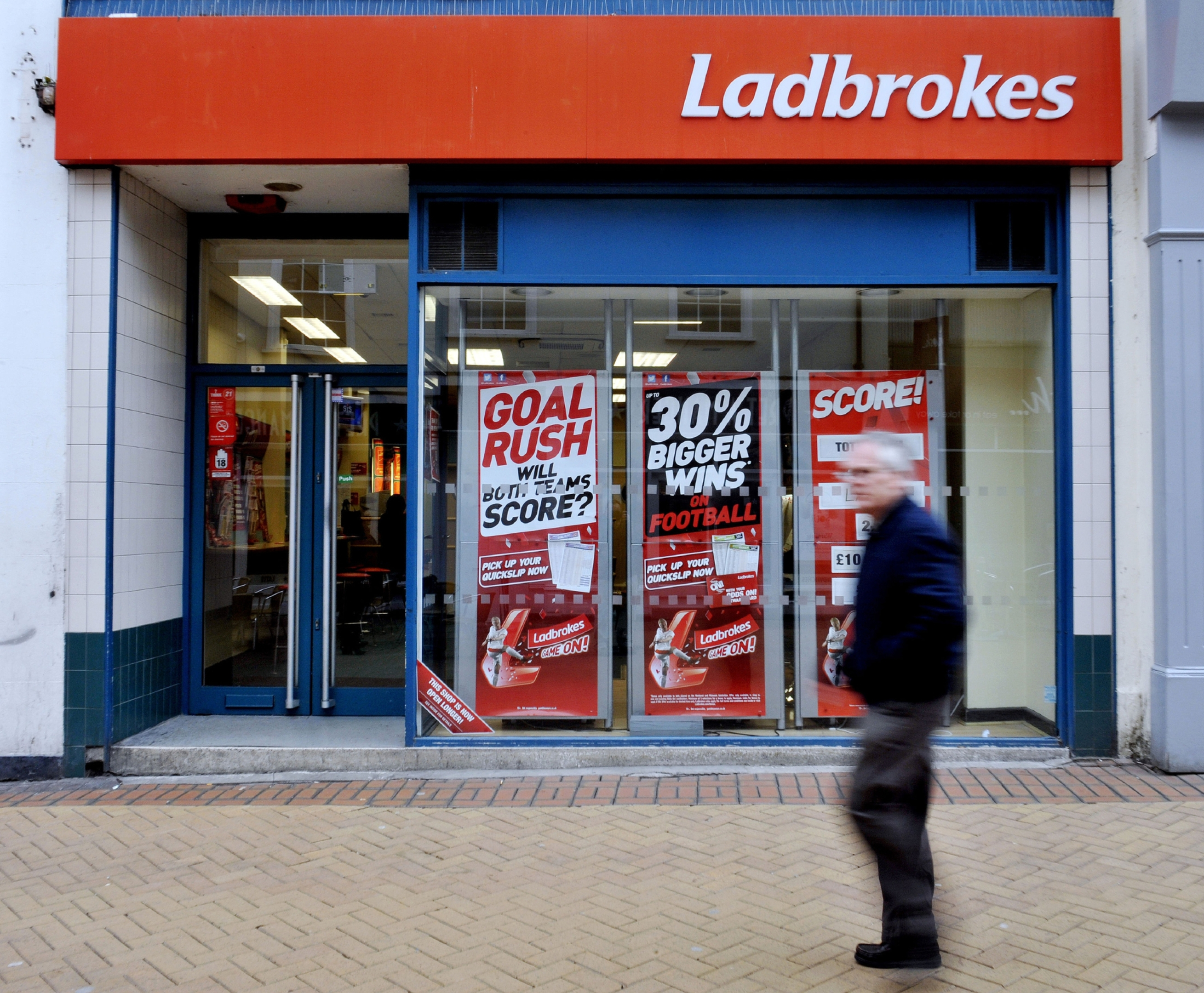 Ladbrokes is progressing plans for a merger with rival Coral
