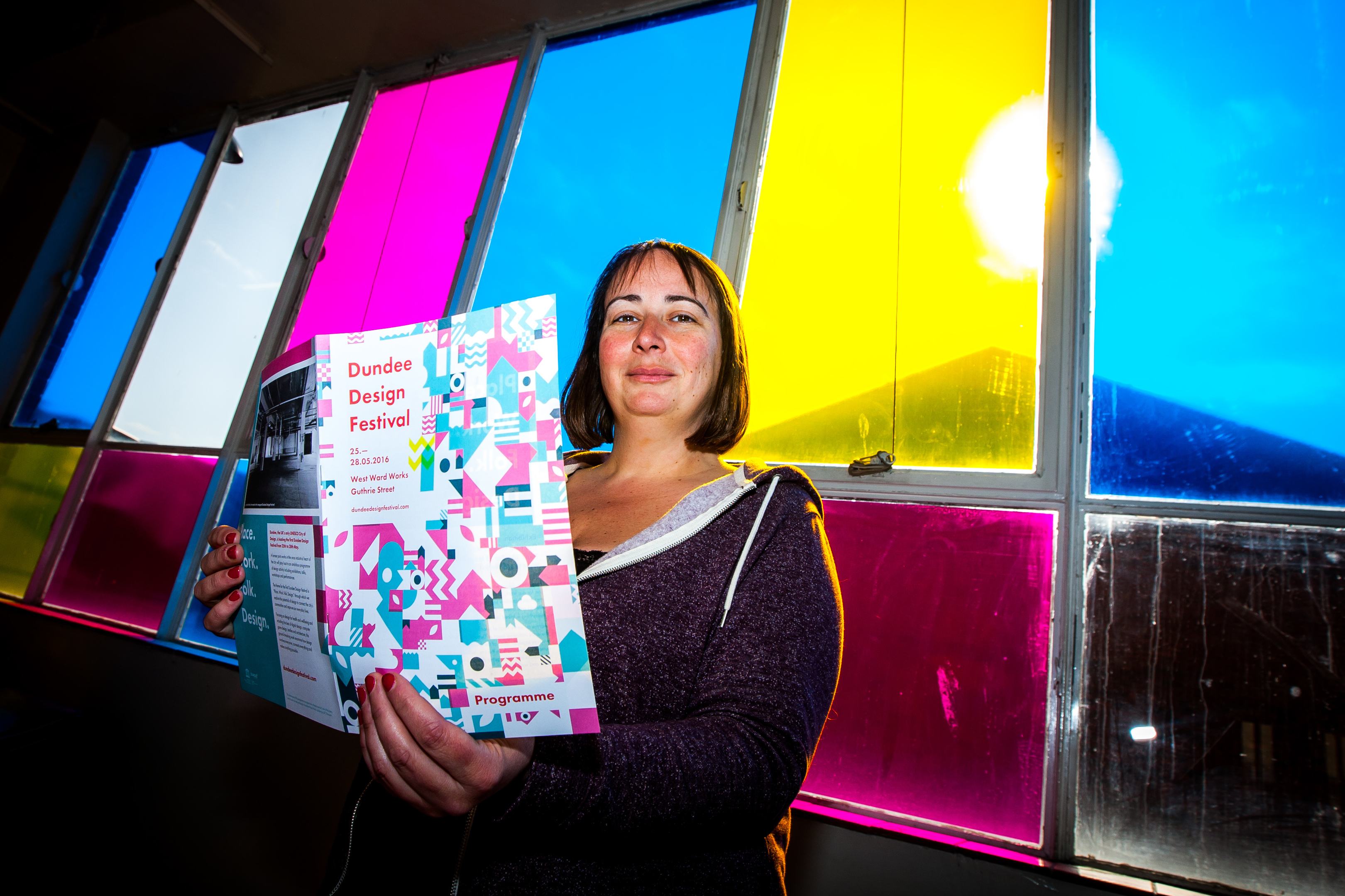 Manager at UNESCO Dundee City of Design Anna Day looks forward to the festival.