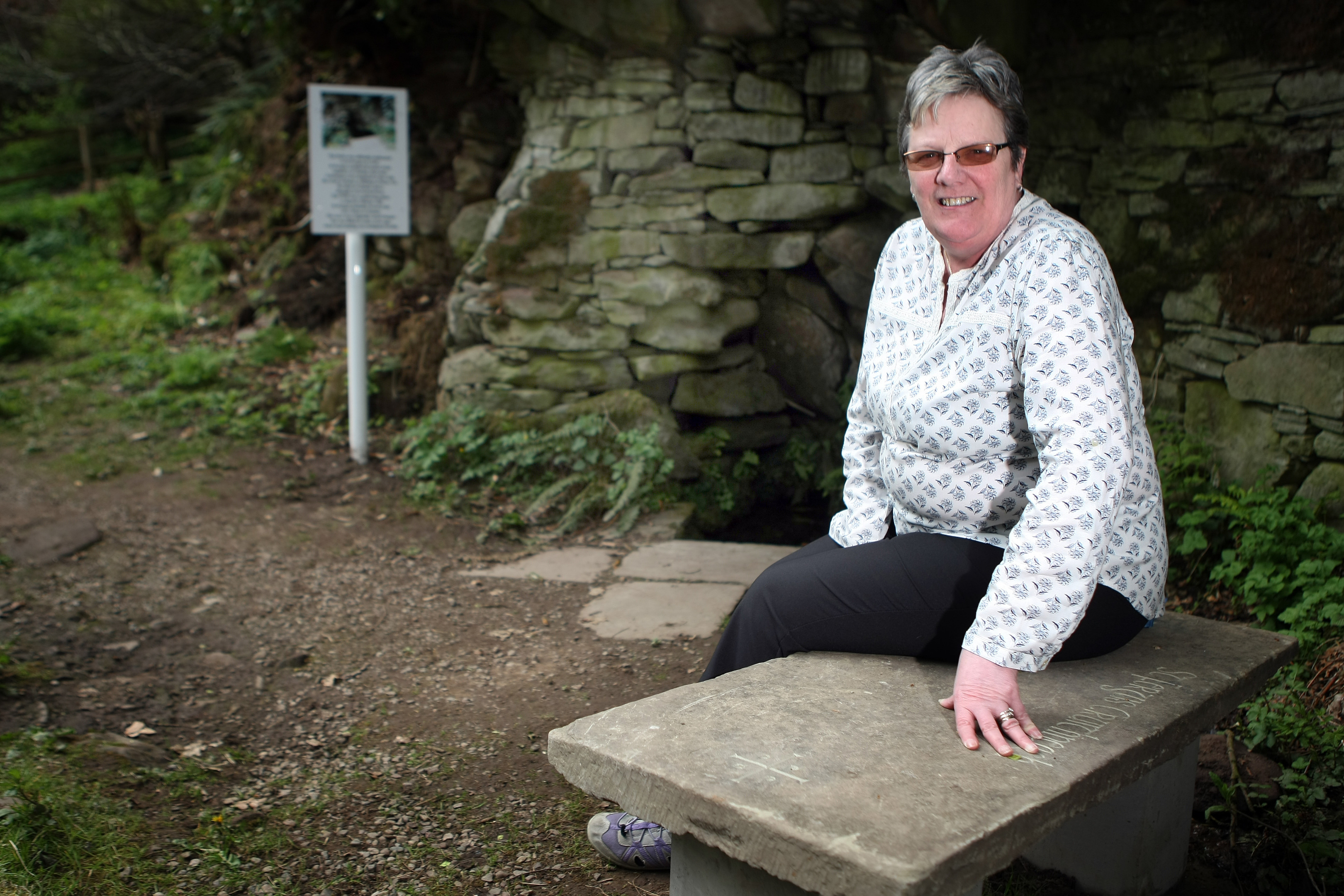 Margaret Stoker hopes a host of improvements will help tell a story about Glamis that most visitors are not aware of.