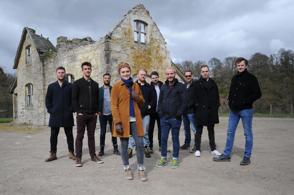 The cast of The 306: Dawn.