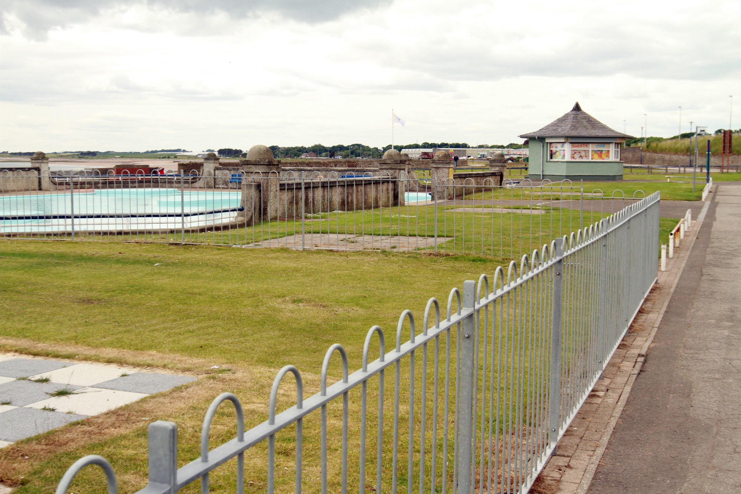 A 60-year-old man has been charged after an incident near Arbroath's West Links playpark.