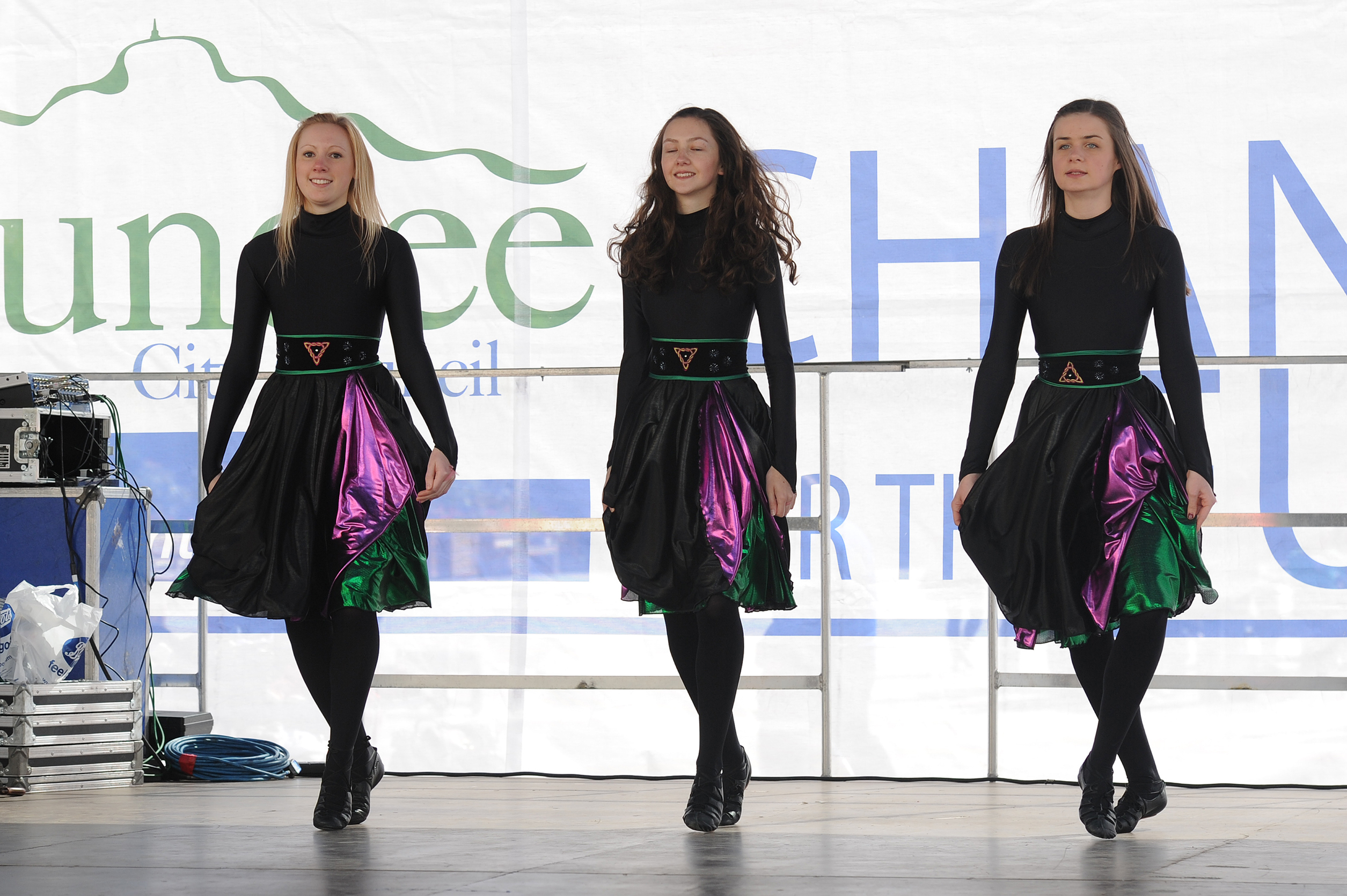 Dancers performing at last year's gala day.