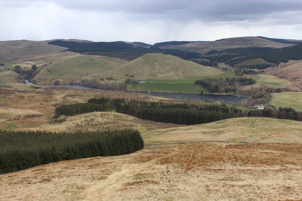 4. Glen Devon and Castlehill Reservoir from Seamab Hill - James Carron