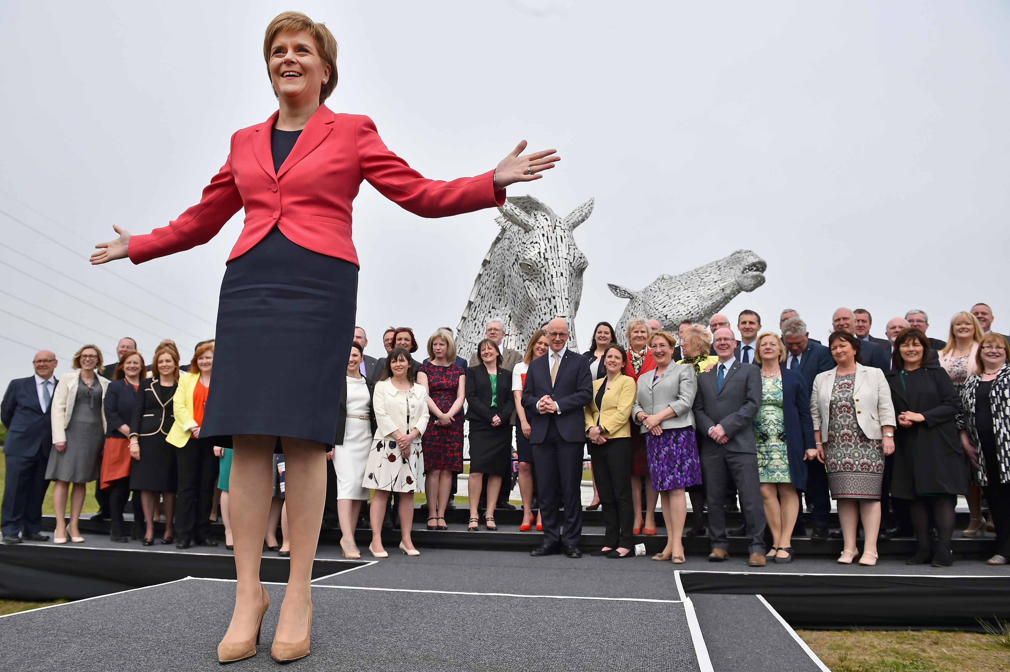 Nicola Sturgeon will lead a minority government at Holyrood but, including the Greens, can count on a majority of MSPs being pro-independence