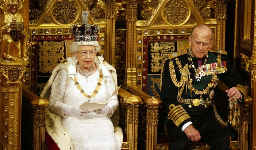The Queen sets out the government's agenda for the coming session.