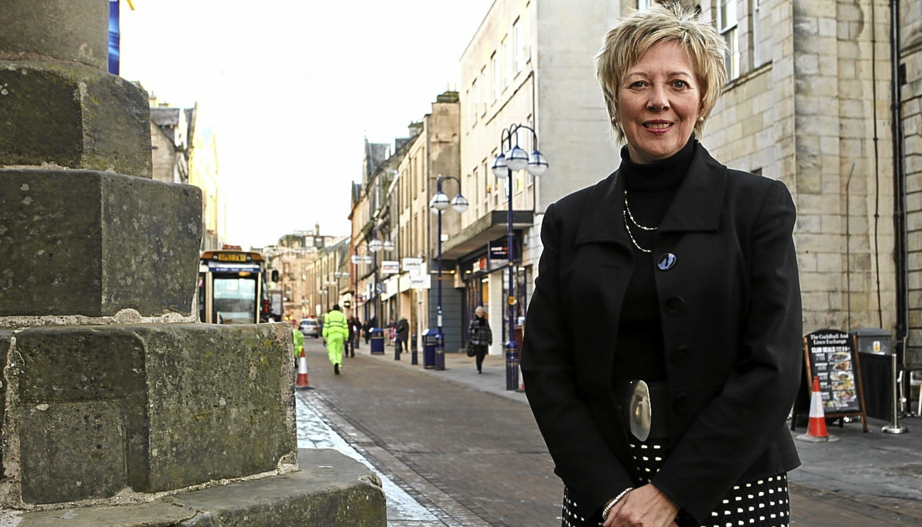 Fife Council depute leader Lesley Laird