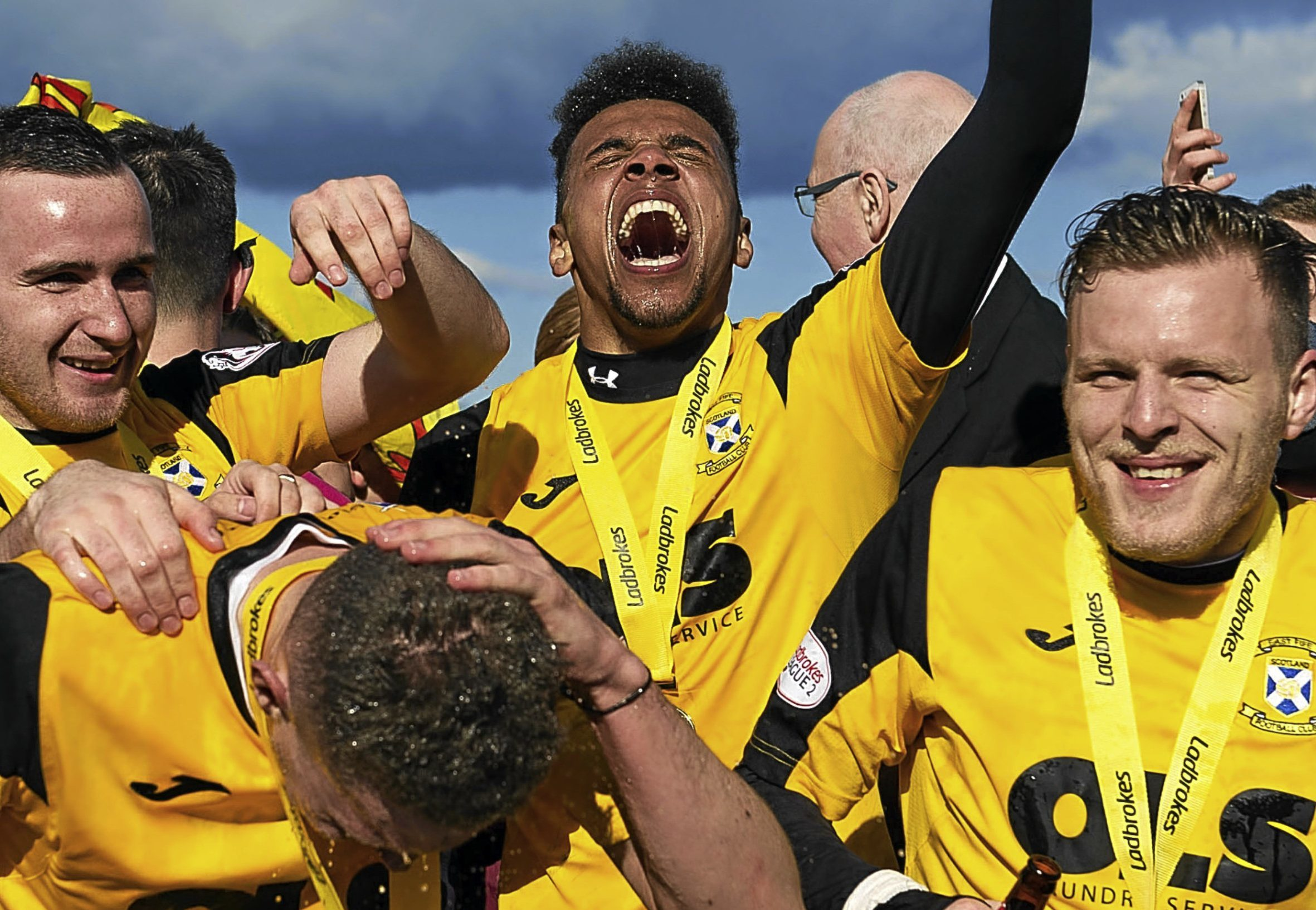 Party time for East Fife.