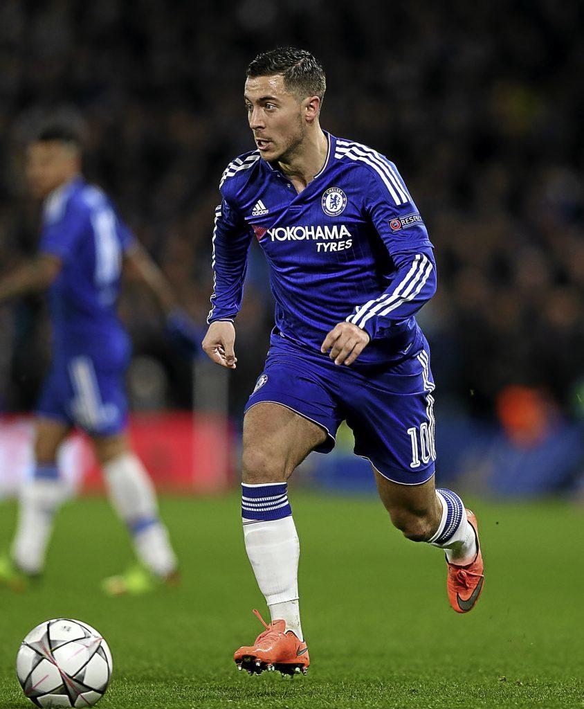 Eden Hazard during his Chelsea days.