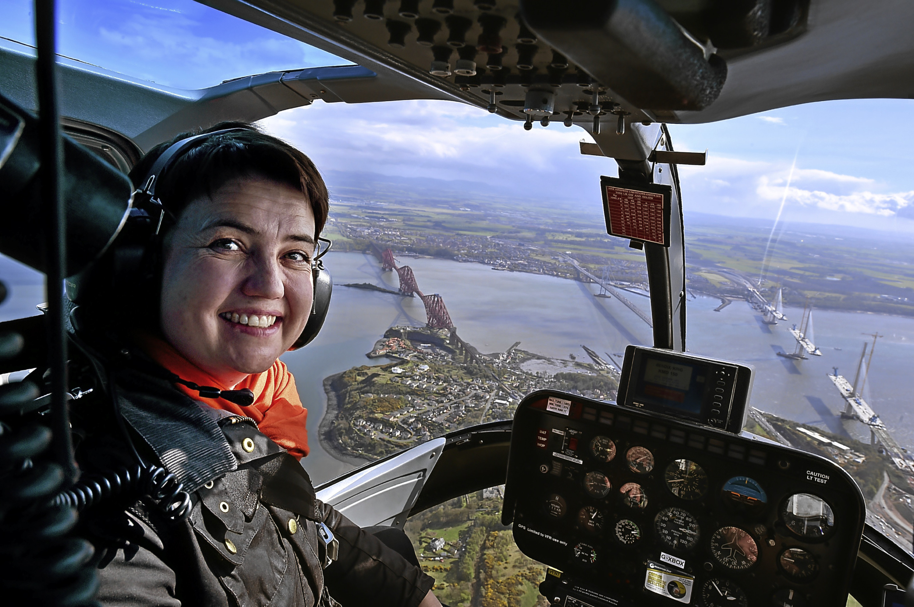 Ruth Davidson hopes to be flying high after the election.