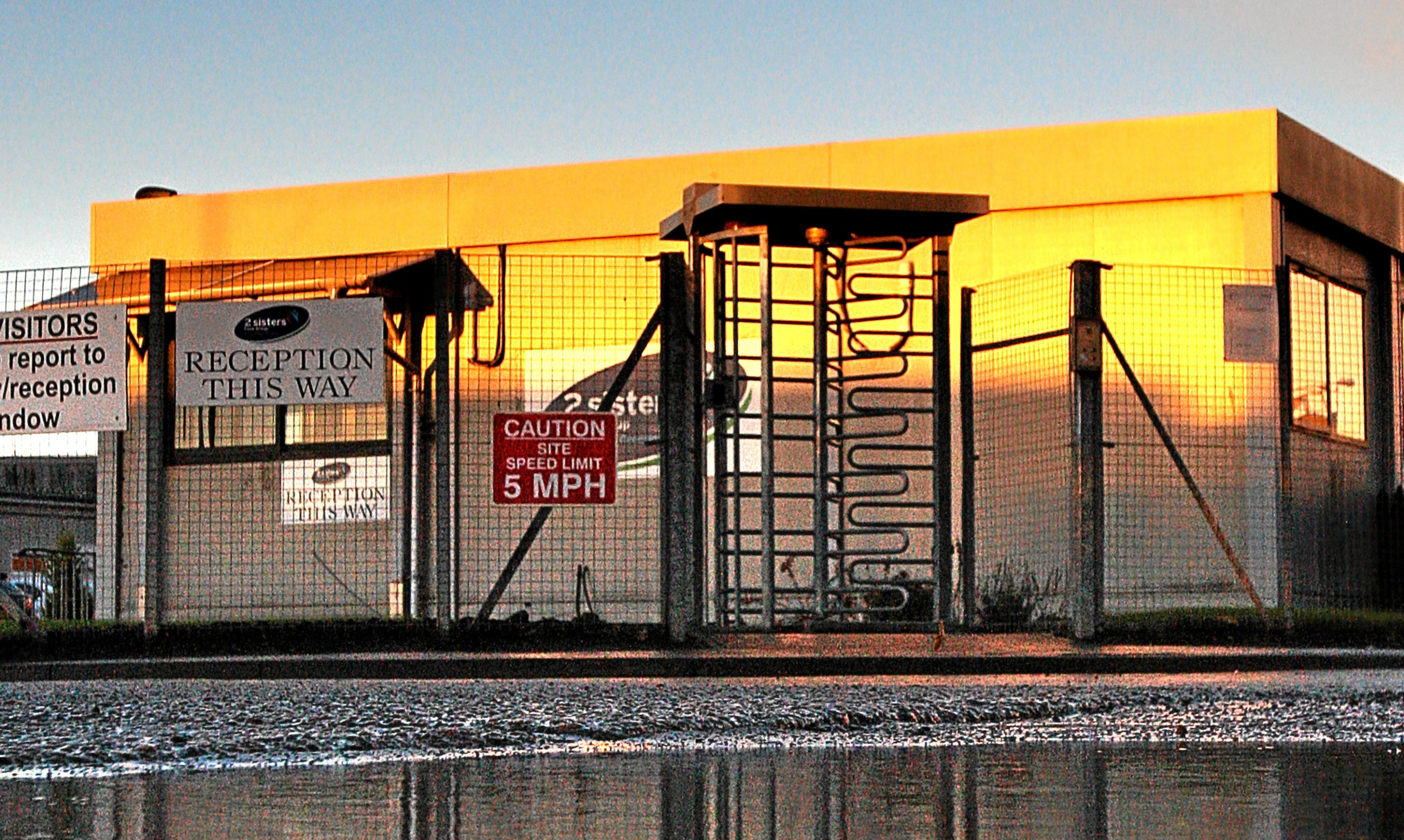 2 Sisters chicken processing plant in Coupar Angus
