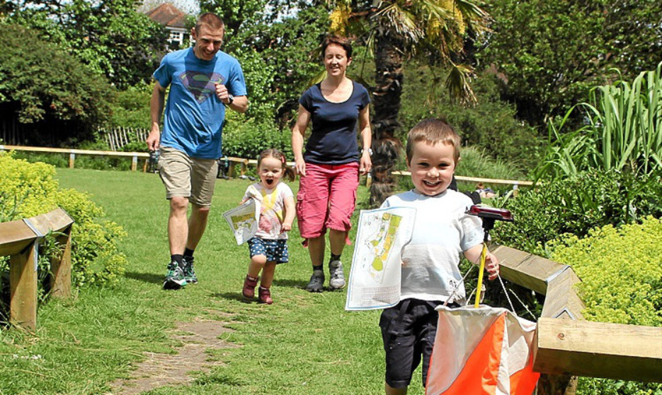 Orienteering is fun for all the family.