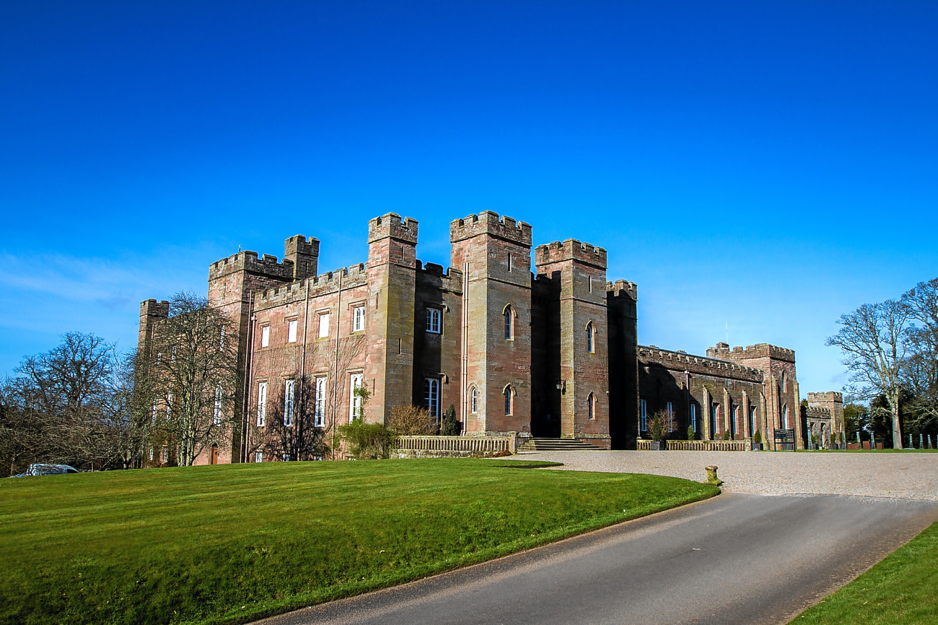 Scone Palace was one of the businesses which attended the VisitScotlandexpo.