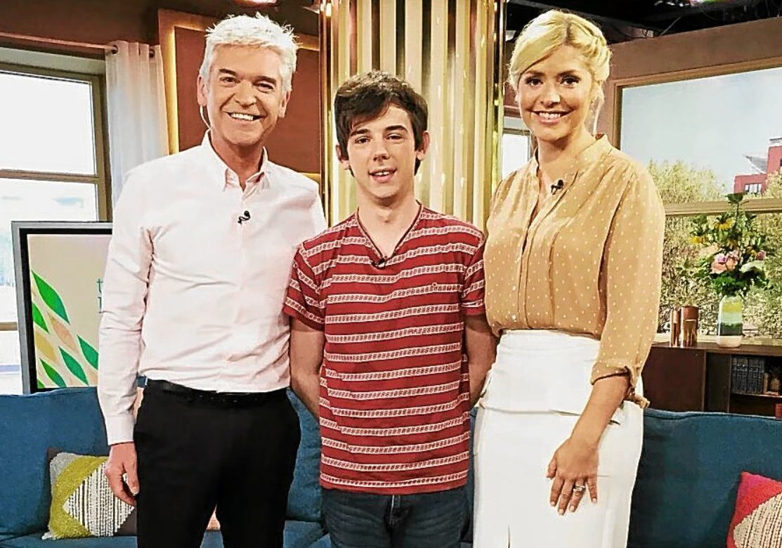 Robert was invited on to ITVs This Morning to discuss his fundraising effort.