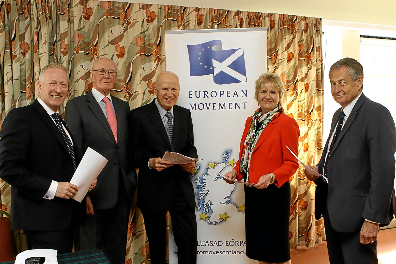 Panel at the European debate in Perth