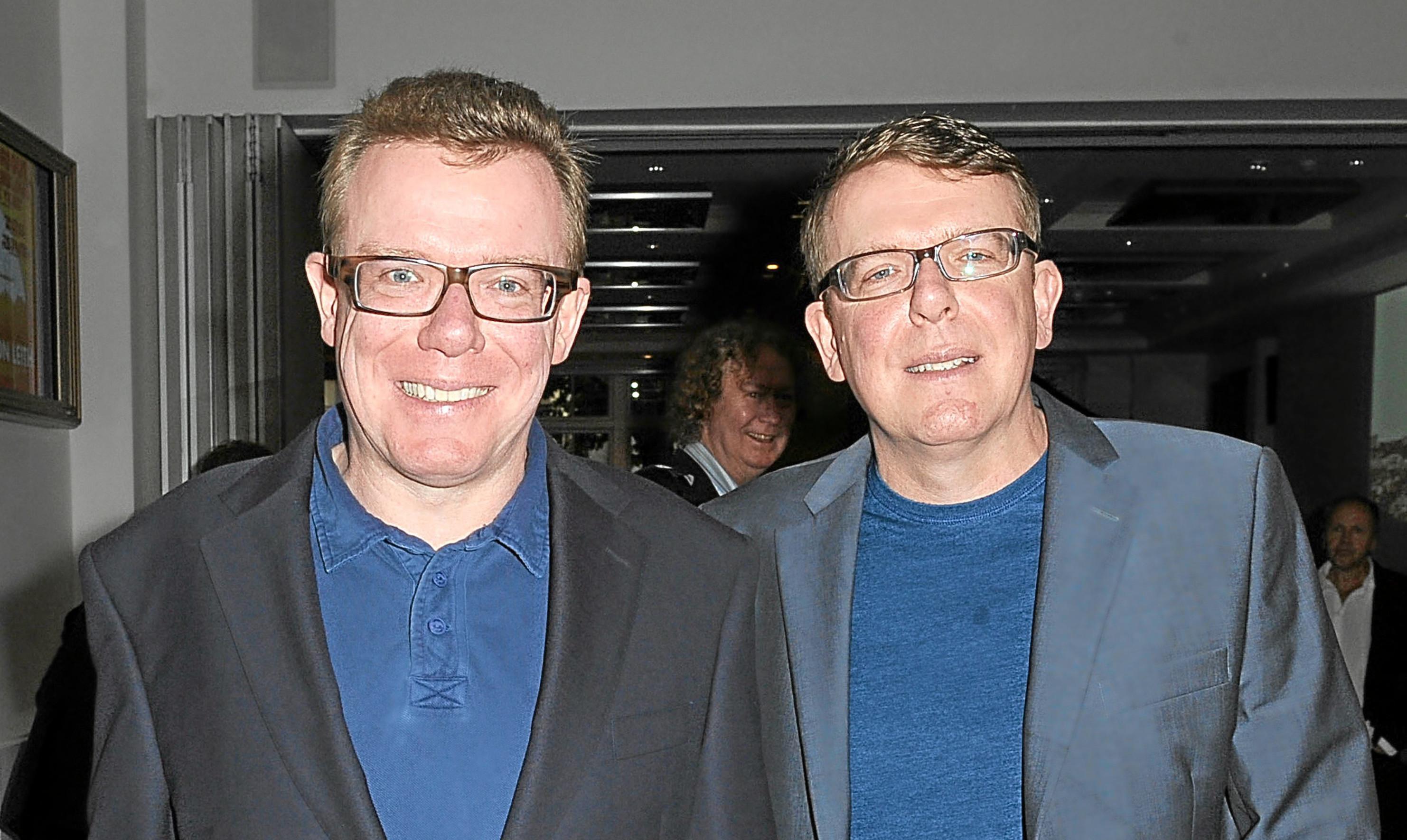 Charlie and Craig Reid.