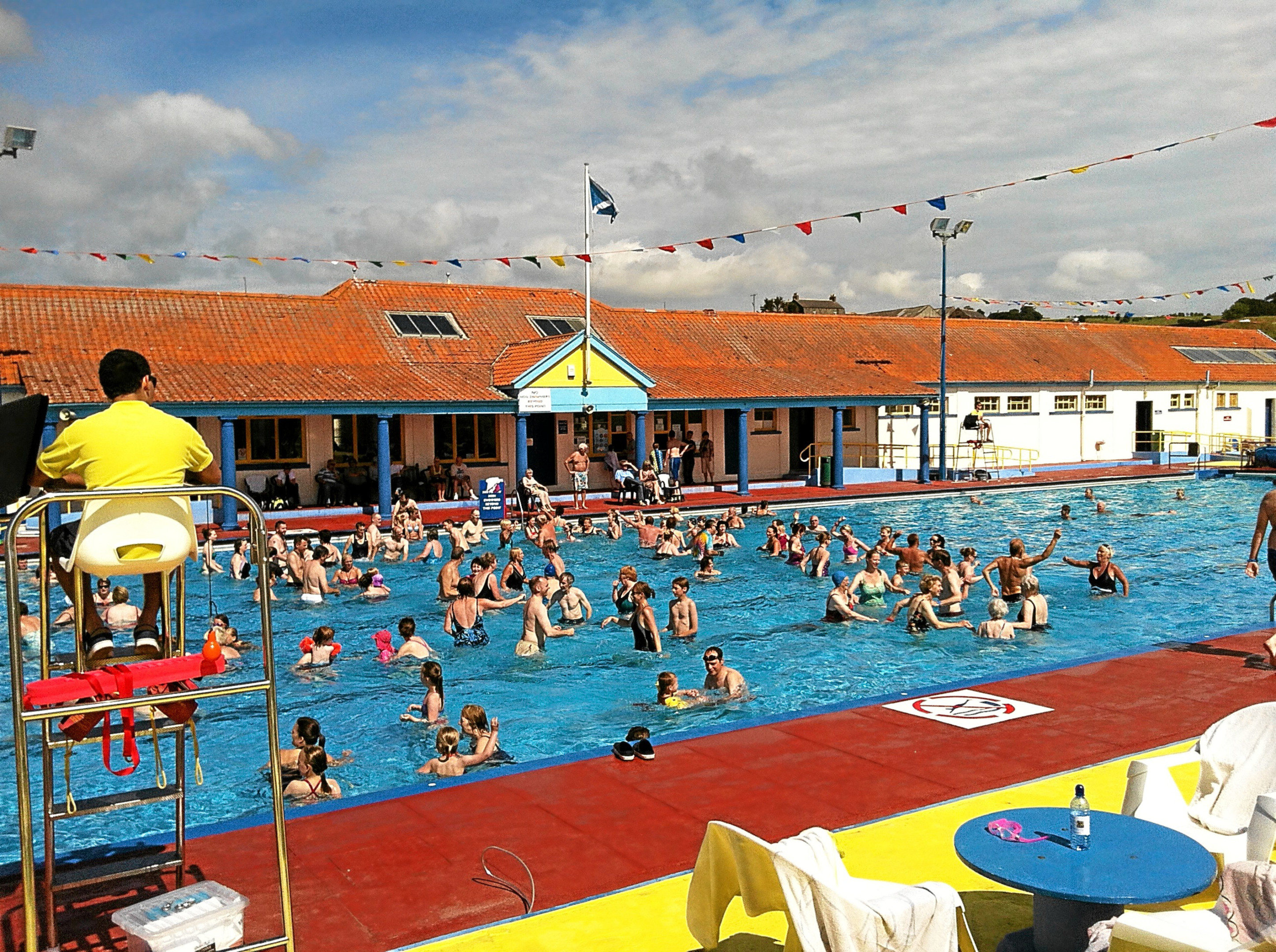 Stonehaven Open Air Pool.