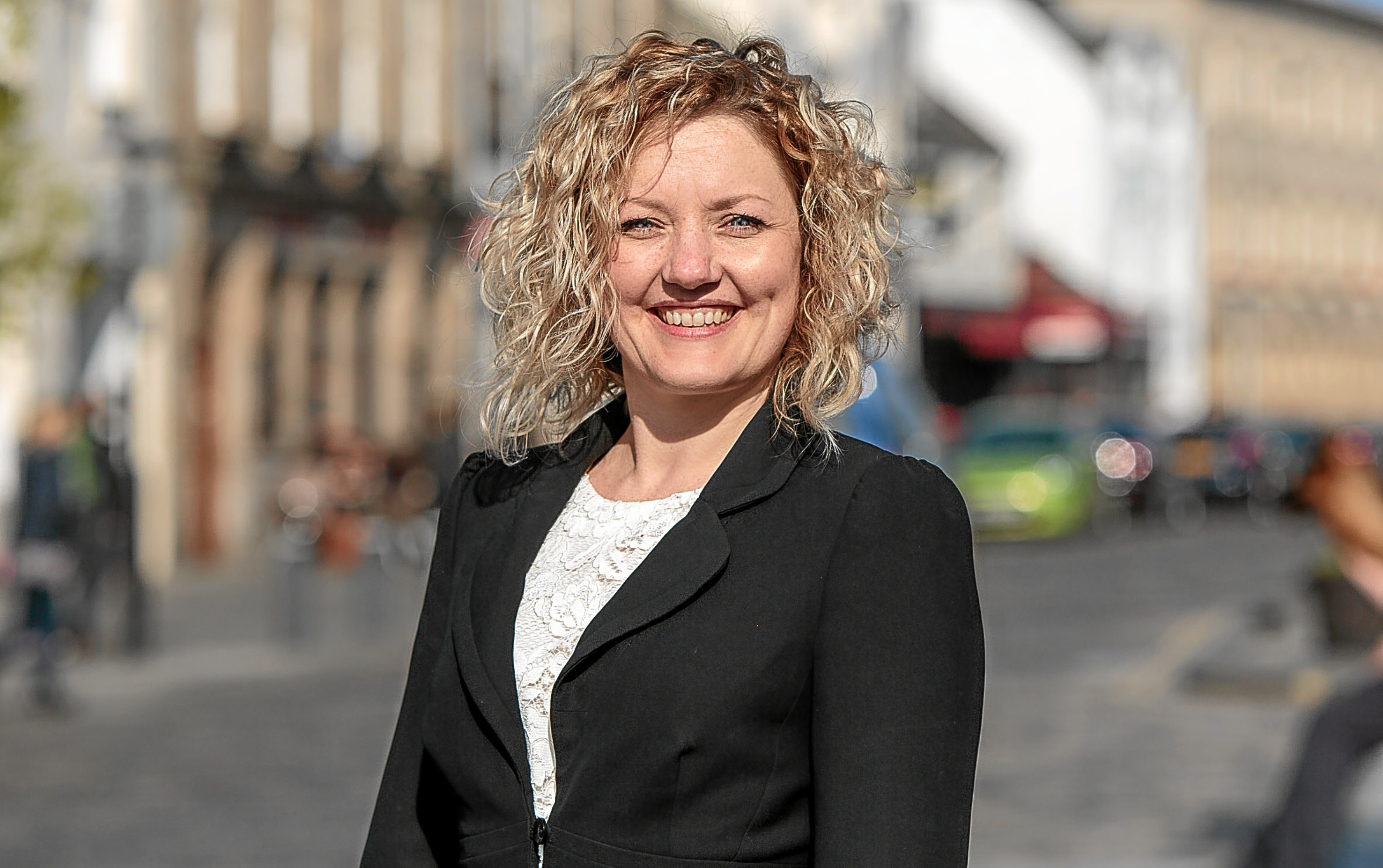 BID St Andrews manager Rhonda McCrimmon.