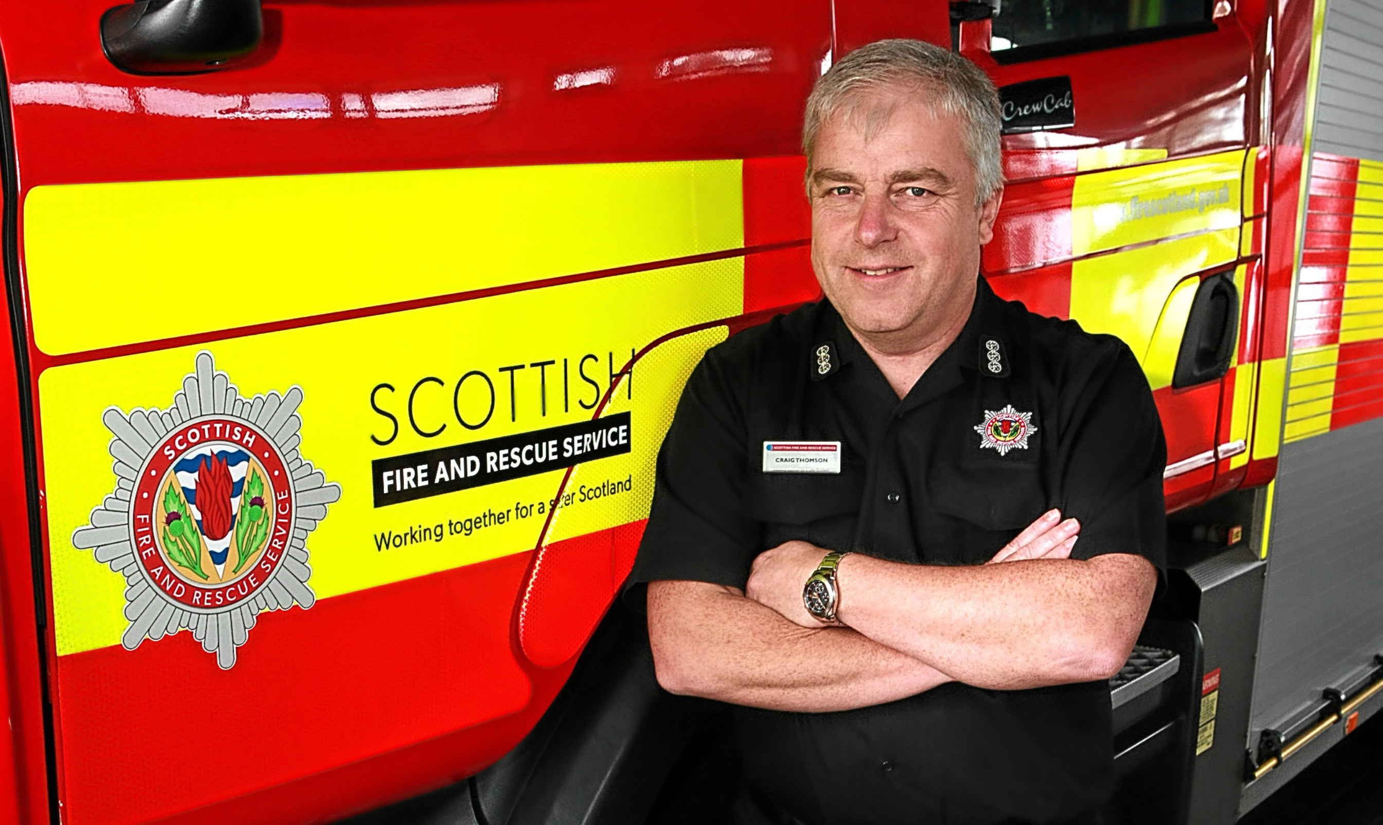 Craig Thomson believes youths are mostly responsible for a rise in deliberat fires in Dundee.
