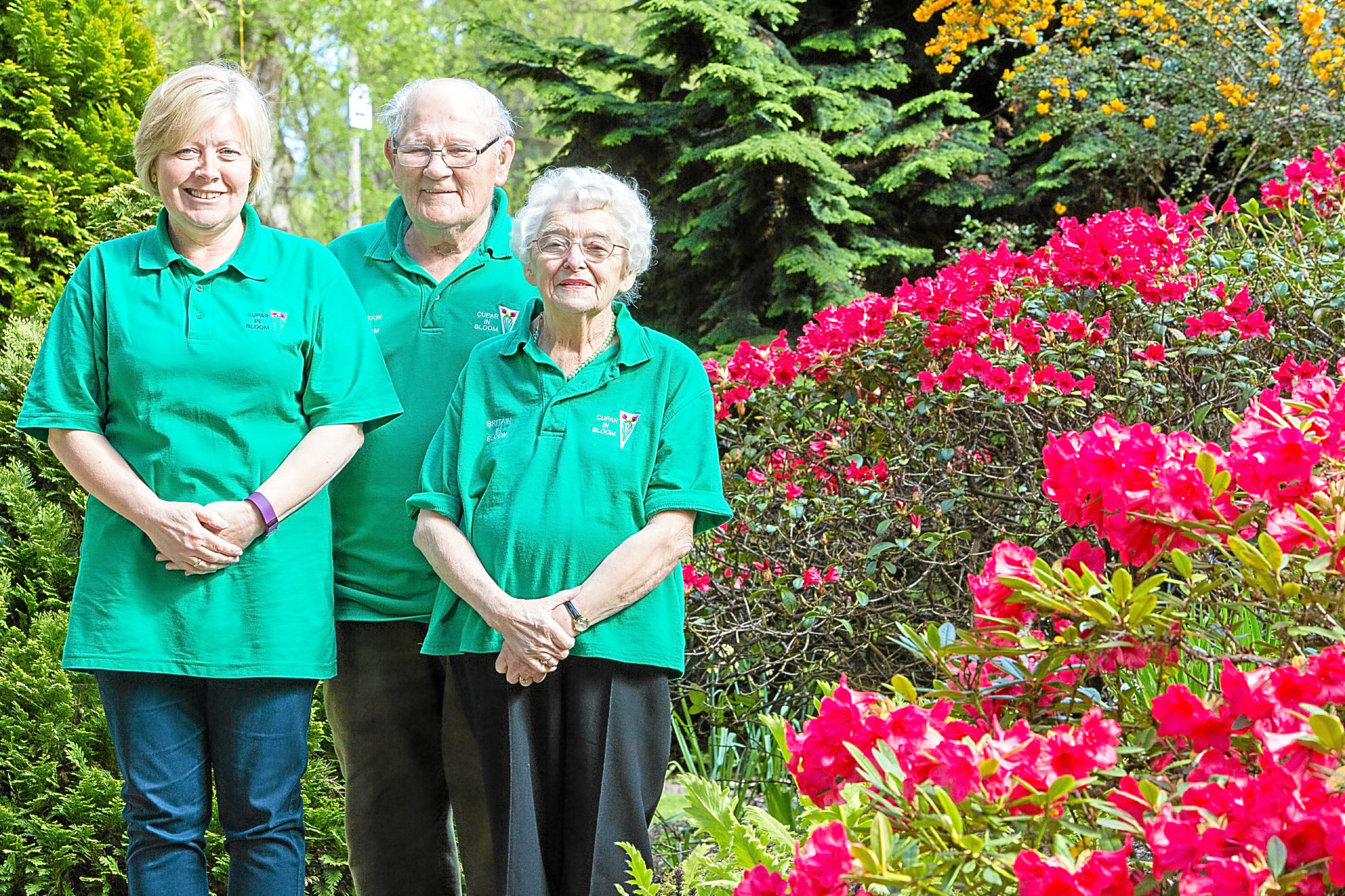Mary Law (right), chair of Cupar in Bloom, wants to ensure the town stays blooming marvellous