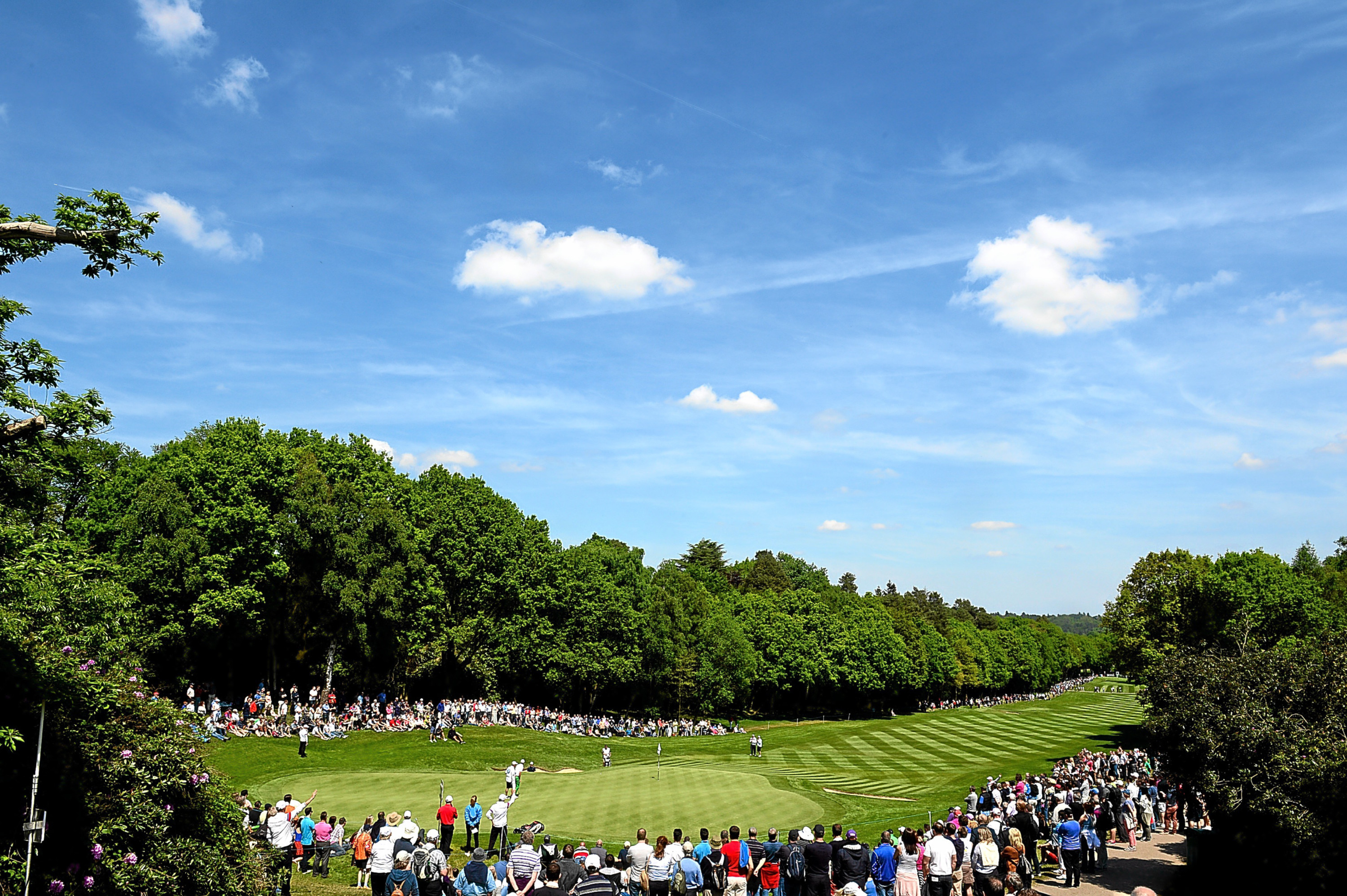 The Wentworth West course, home of BMW PGA Championship.